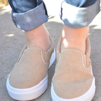 Can't Go Wrong Sneaker - Tan