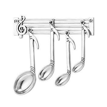 Music Note Measuring Spoon Set | cute measuring cups, measuring cups and spoon, gift for musicians