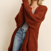 Whatever The Day Cardigan