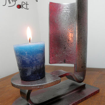 Why not by Angels Art (acrylic candle stand), candleholder, candlestick, modern design, minimal, bar decoration
