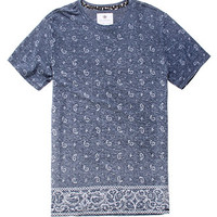 On The Byas Paisley Fade Crew Tee at PacSun.com