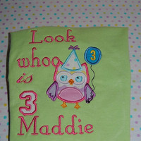 birthday personalized shirt any age