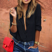 Fashion Lapel Shirt