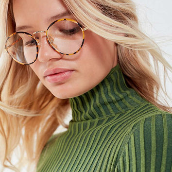 Vintage Professor Round Metal Readers | Urban Outfitters
