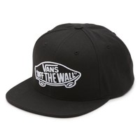 Vans Home Team Snapback Hat (Black/White)