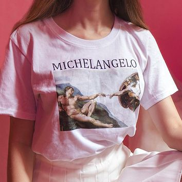 Michelangelo Aesthetic T-Shirt