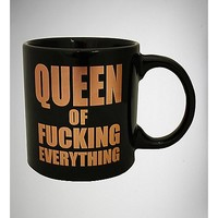 Queen of Fucking Everything Mug - 22 oz. - Spencer's