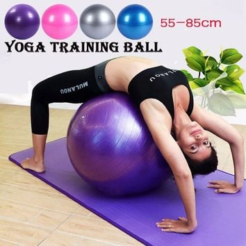 Lose Weight Yoga Ball Exercise Aerobic Gymnastic Fitness Pilates Balance Abdominal Training 4colors
