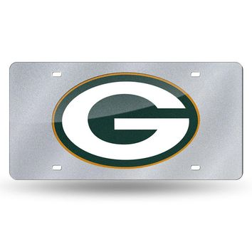 Green Bay Packers NFL Bling Laser Cut Plate Cover