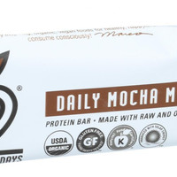 22 Days Nutrition Organic Protein Bar - Daily Mocha Mantra - Case Of 12 - 1.7 Oz Bars