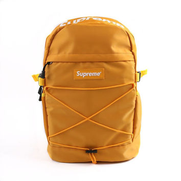 """Supreme"" Stylish Back To School Casual Alphabet Backpack"
