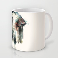 Headdress Mug by Amy Hamilton