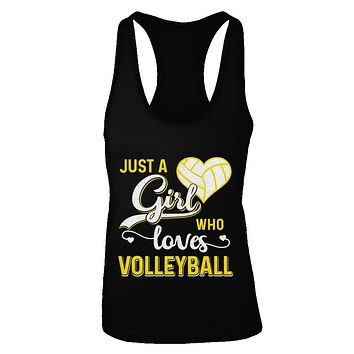 Just A Girl Who Loves Volleyball