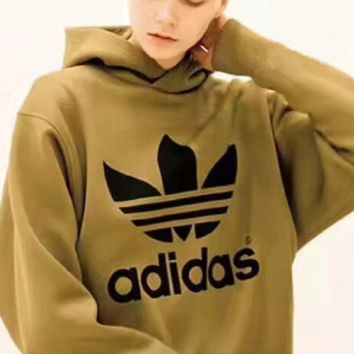 shosouvenir : Adidas HYKE Fashion Hooded Top Pullover Sweater Sweatshirt Hoodie