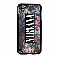 Nirvana Logo Floral Flower Design iPod Touch 5th Generation Case