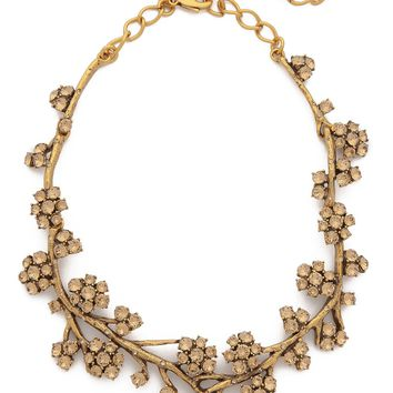 Crystal Branch Necklace
