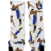 Steph Curry Dab Custom Nike Elite Socks