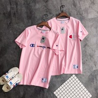 Champion Action style Women Pink T-shirt