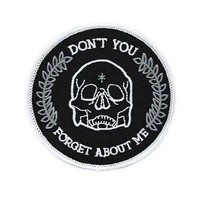 Don't You Forget About Me Skull Patch