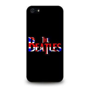 THE BEATLES NEW DESIGN BRITISH iPhone 5 / 5S / SE Case