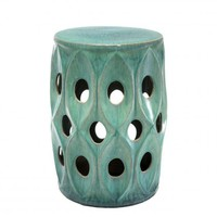 Turquoise Drum Table | Eichholtz Hugo