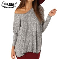 Sweater Women Winter Pullover Lady Winter Knitted Sweater Plus Size Women Clothing  Winter Sweater Tops