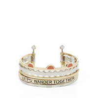 Multi Bangle Wander Bracelet in Gold - BCBGeneration