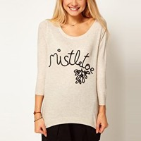 ASOS Mistletoe Jumper at asos.com