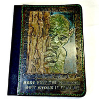 Gollum,Lord of the Rings,The Hobbit,Ipad Tablet Case,E reader case,Custom Tablet Case,Geek Gift,Geekery,Smeagol,Gift for him,Gift for her