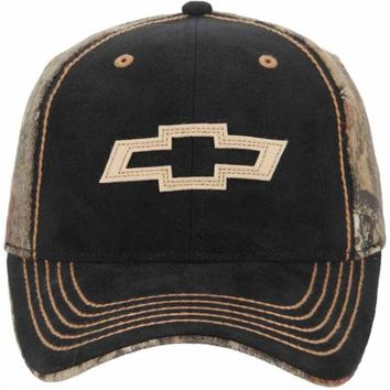 Chevy Black Logo Cap, Black - Walmart.com