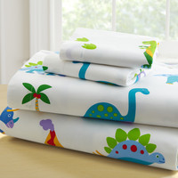 Olive Kids Dinosaur Land Twin Sheet Set - 43412