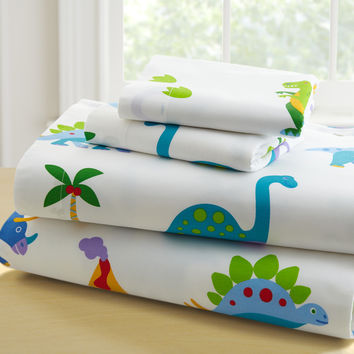 Olive Kids Dinosaur Land Toddler Sheet Set - 92412