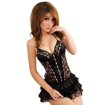 Amour - Fancy Party Deluxe Pirate Treasure Seeker Steampunk Costume Halloween (Regular, Princess Lolita)