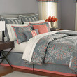 Martha Stewart Collection Bedding, Grand Damask 24 Piece Comforter Sets - Bed in a Bag - Bed & Bath - Macy's
