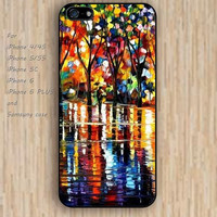 iPhone 4 5s 6 case watercolor pattern tree lighting dream catcher colorful phone case iphone case,ipod case,samsung galaxy case available plastic rubber case waterproof B639