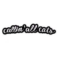 Callin' All Cats Iron-On Back Patch