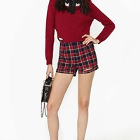 Detention Plaid Shorts