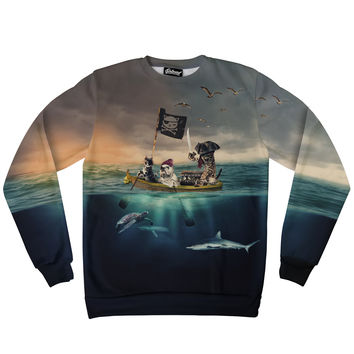 Captain Kitty Sweatshirt