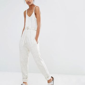 Y.A.S Minna Sweat Jumpsuit at asos.com