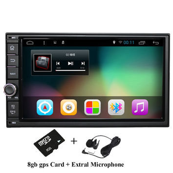 "7"" 2Din 1024*600 Android 4.4 Car Tap PC Tablet  2 din Universal  For Nissan GPS Navigation BT Radio Stereo Audio Player(No DVD)"