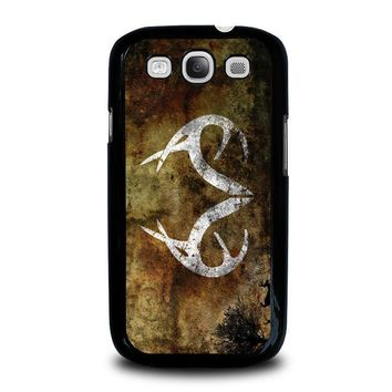 realtree deer camo samsung galaxy s3 case cover  number 1