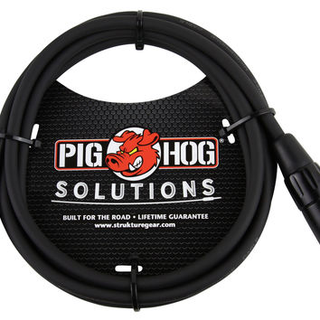 Pig Hog Solutions 6ft XLR(M)-RCA Cable