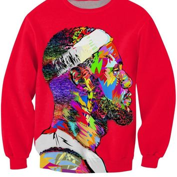 Thick 3d Lebron James Sweat Shirt