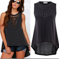 Hot Stylish Bralette Beach Sexy Comfortable Dress Summer Vest [6880423047]