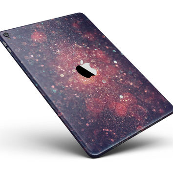 "Red and Blue Unfocused Shimmer Lights Full Body Skin for the iPad Pro (12.9"" or 9.7"" available)"