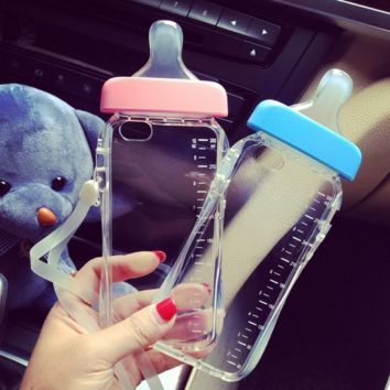 Soft Pacifier Case for iPhone