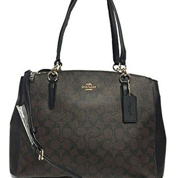 Coach Christie Carryall in Crossgrain Leather COACH bag