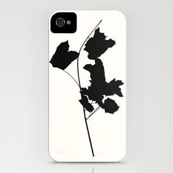 Maple_Black iPhone Case by Garima Dhawan | Society6