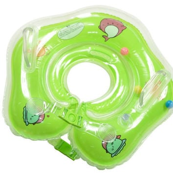 New Arrival Blow-up Double-layered Environmental Baby Ring [6033494017]