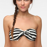 Urban Outfitters - UO Mix & Match Tie-Front Bandeau Bikini Top
